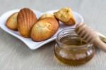 Madeleines au miel et au beurre salé