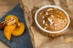 Muffins noix de pécan et abricots (sans gluten et sans lactose)