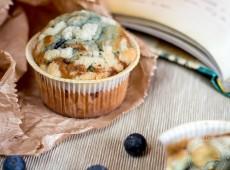 Muffins aux myrtilles et craquelin