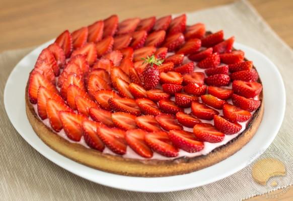 Cuisine – macarons – fraise – tarte