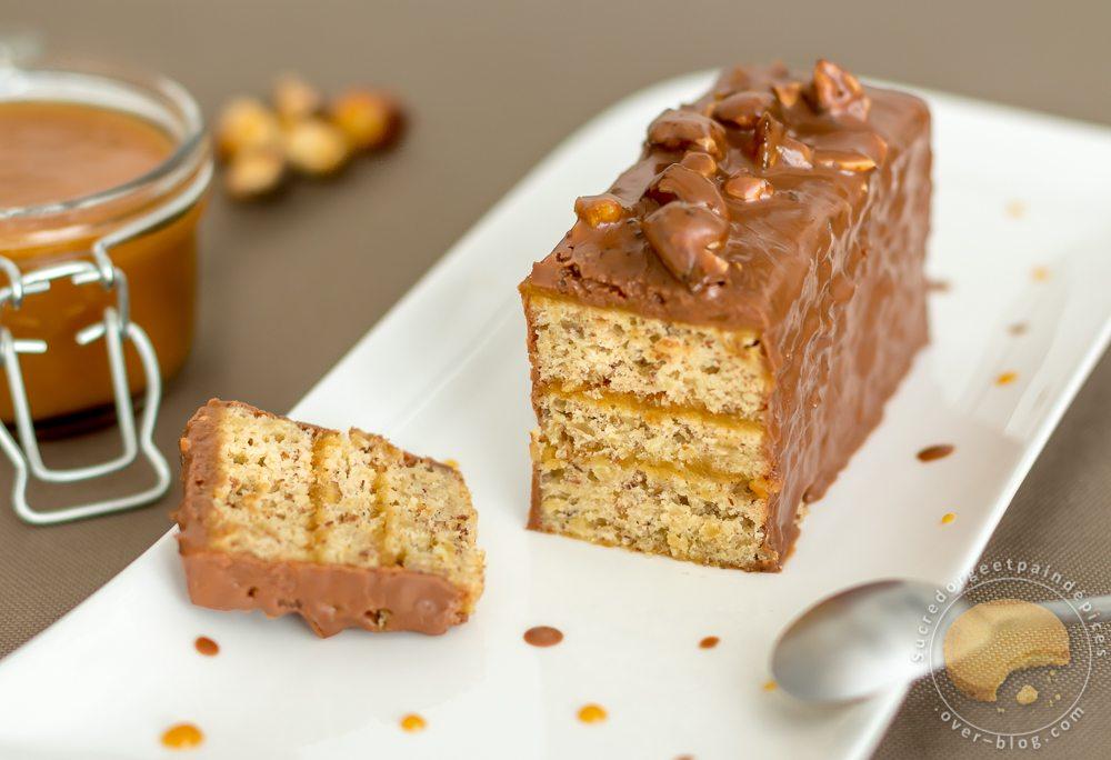 Moelleux aux noisettes et caramel au beurre sal sucre d - Cuisine uretre et dessert ...