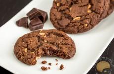 Cookies indécemment gourmands chocolat et cacahuètes