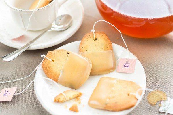Sablé – thé – jasmin