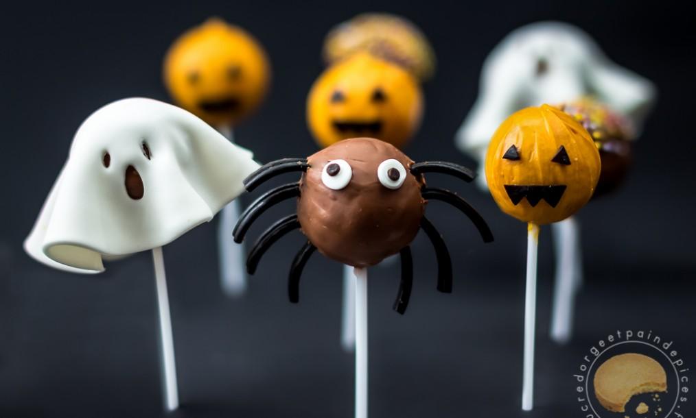 Cake Design Recette Halloween : Cake pops d Halloween - Sucre d Orge et Pain d Epices