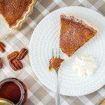 La PPP : Pumpkin & Pecan Pie ou tarte sucrée au potiron, noix de pécan, cannelle et sirop d'érable