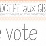Votez pour SDOEPE aux Golden Blog Awards