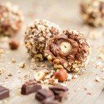 Comme un Ferrero : Rochers au chocolat au lait, praliné et noisettes