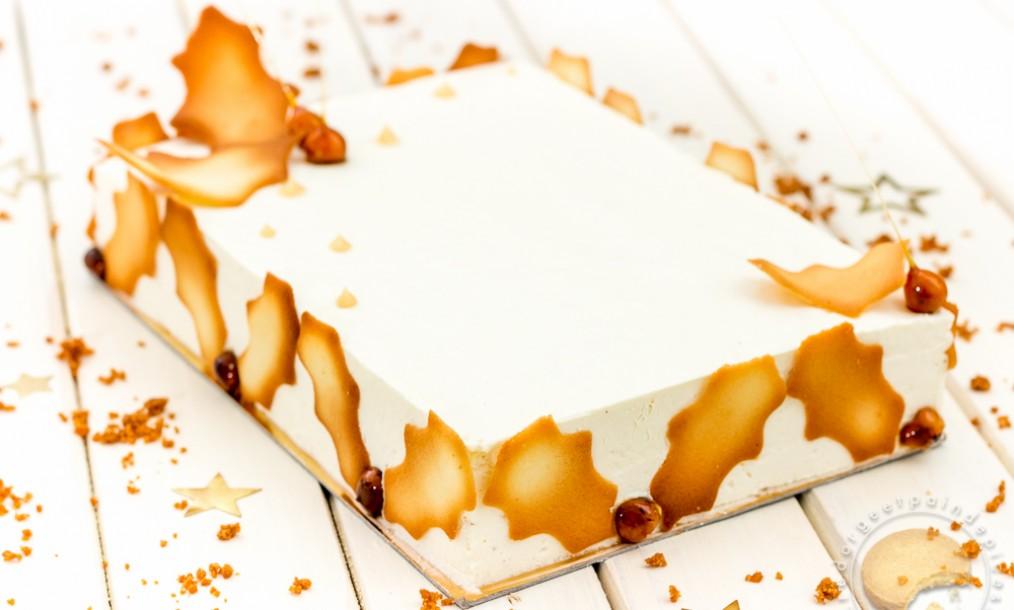 le g 226 teau de no 235 l vanille caramel et sp 233 culoos pour ceux qui n ont pas de moule 224 b 251 che