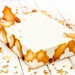 Le gâteau de noël vanille, caramel et spéculoos pour ceux qui n'ont pas de moule à bûche ;-)