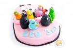 Gâteau d'anniversaire Barbapapa