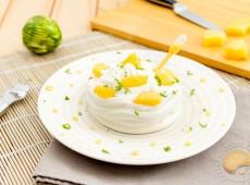 Pavlova aux fruits exotiques (sans gluten)