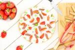 Mon Fantastik fraise, rhubarbe, basilik