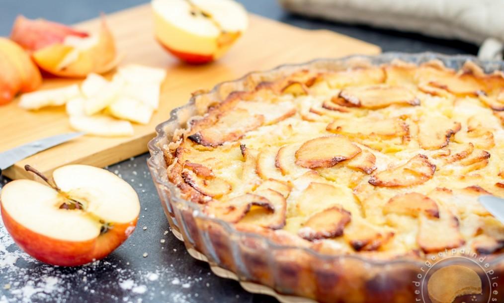 gâteau aux pommes ultra simple, ultra rapide et ultra bon (sans