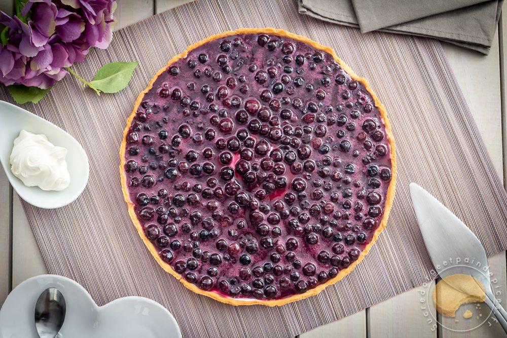 Tarte Cheese Cake Myrtille