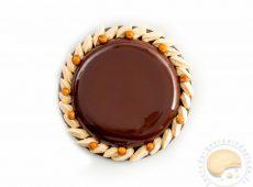Tarte divine chocolat et caramel au beurre salé