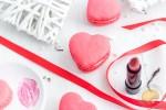 Un amour de macaron : ganache montée au thé à la rose