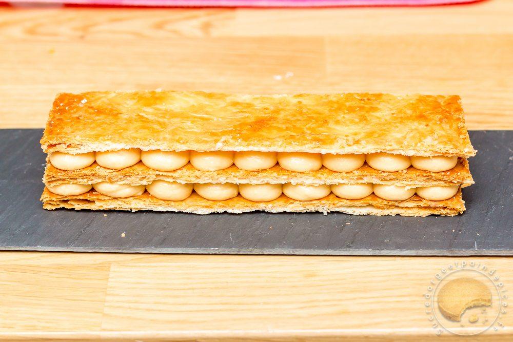 mille feuille poivre et sel cr 233 meux de caramel au beurre sal 233 cr 232 me diplomate 224 la vanille et