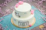 Layer cake Paris: coco, mangue, passion