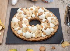 Mon Fantastik Banoffee: Tarte spéculoos, banane, confiture de lait et ganache montée à la vanille
