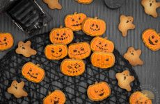 Effrayants mais adorables petits biscuits d'Halloween ^^