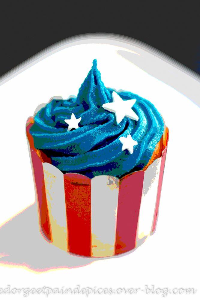American cupcakes sucre d 39 orge et pain d 39 epices - Sucre d orge et pain d epice ...