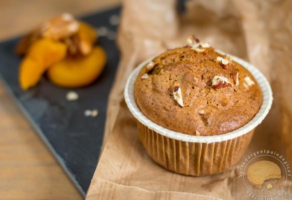 Cuisine – muffin – pecan – abricot