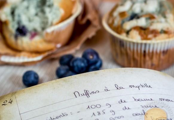Cuisine – muffin – myrtille