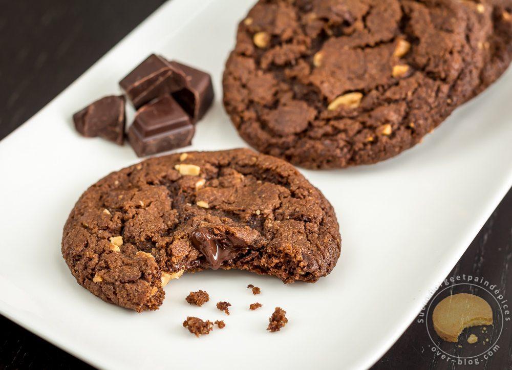 Cookies Indecemment Gourmands Chocolat Et Cacahuetes Sucre