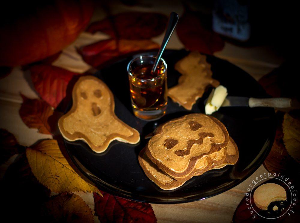 Pancakes D Halloween Sucre D Orge Et Pain D Epices