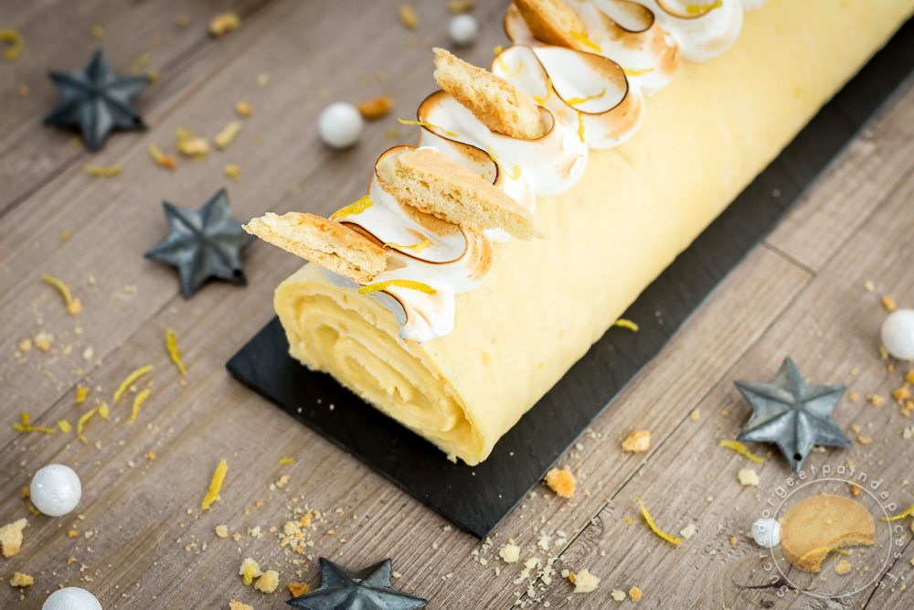 Buche noel meringue thermomix