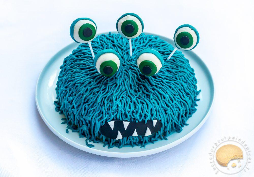 Gâteau Danniversaire Monstrueusement Bon Noix De Coco Et Citron