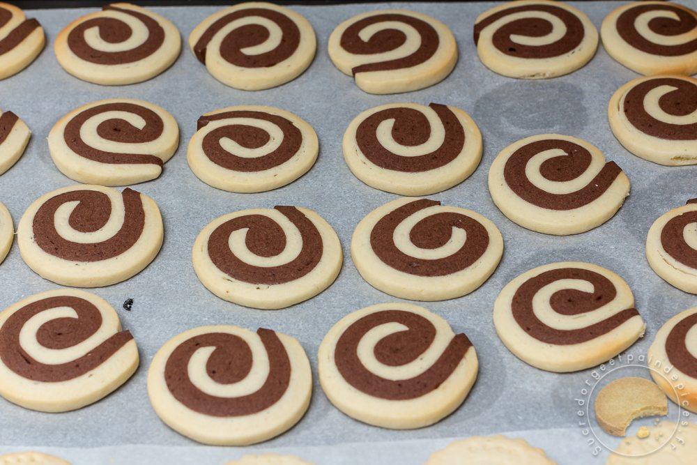 Biscuits spirales chocolat vanille sucre d 39 orge et pain d 39 epices - Sucre d orge et pain d epice ...