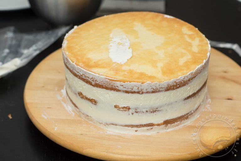 Naked cake aux abricots et au romarin - Sucre dOrge et