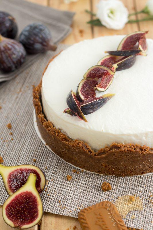 Cheese Cake A La Figue Et Au Speculoos Sucre D Orge Et Pain D Epices