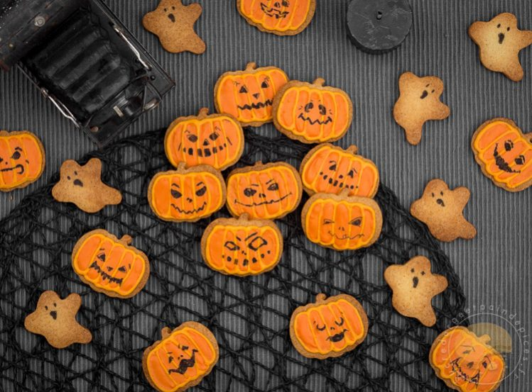 Effrayants Mais Adorables Petits Biscuits D Halloween Sucre D