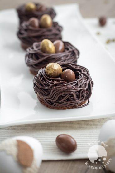 Nids De Pâques Tout Chocolat Ultra Moelleux Et Fondants